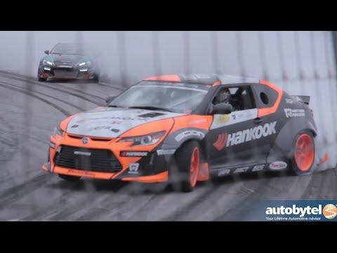 Scion Racing Drift Team interviews 2014 Media Day at Irwindale Speedway