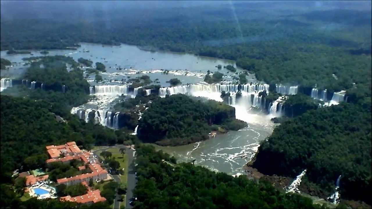 Iguazul Falls Wallpaper Hd Brasil Cataratas Foz Do Igua 231 U Imagens A 233 Reas Iguazu