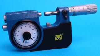 Микрометр рычажный МР-25(Подробнее - http://rhs.com.ru/mikrometer-ruchagnue Микрометр МР-25 применяется для измерения линейных размеров деталей. В..., 2014-07-16T11:22:50.000Z)