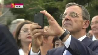 Депутаты французского парламента посетили Крым и провели опрос общественного мнения