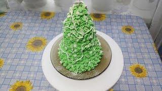 Торт 'Новогодняя ёлочка'