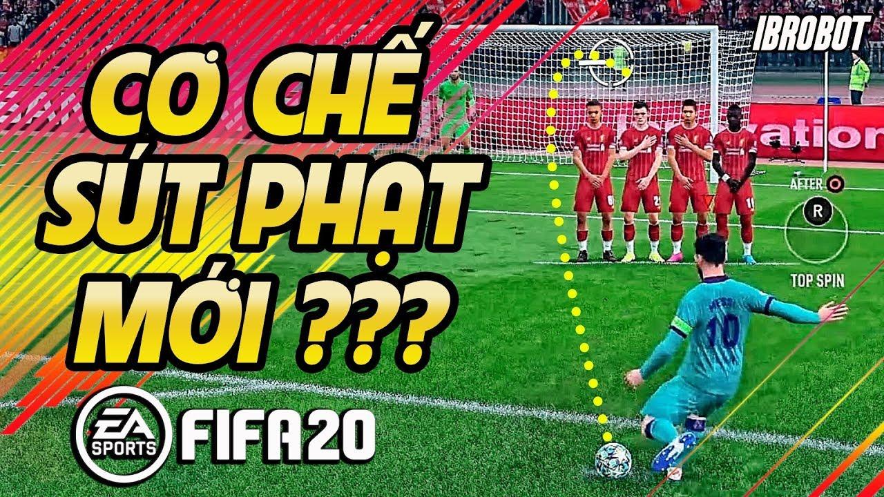 CÁCH SÚT PHẠT BÓNG XOÁY NHƯ MESSI QUANG HẢI TRONG FIFA 20