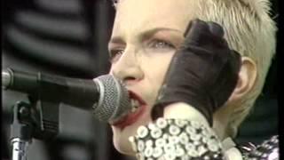 Eurythmics - Here Comes The Rain Again (Live At Mandela Concert 1988)