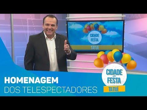 Homenagem dos telespectadores a Tatuí  - TV SOROCABA/SBT