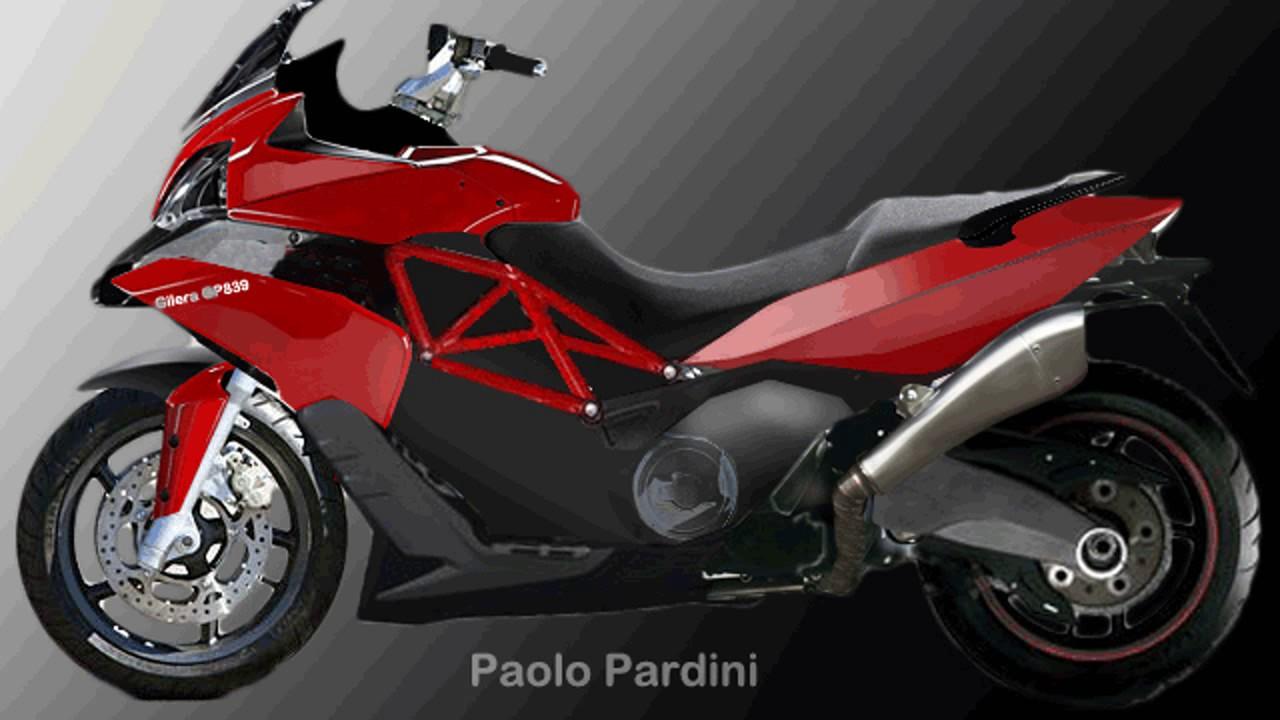 Nuovo New Gilera Gp800 vs Honda X-ADV vs T-Max vs AK-550 vs C650 - YouTube