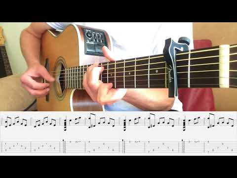 Elvis Presley - Can't Help Falling in Love - Fingerstyle Guitar with Tabs