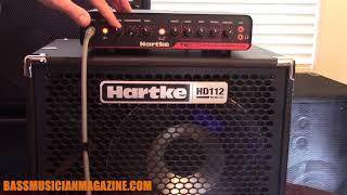 Bass Musician Magazine Reviews Hartke HyDrive HD 112 Bass Cabinet