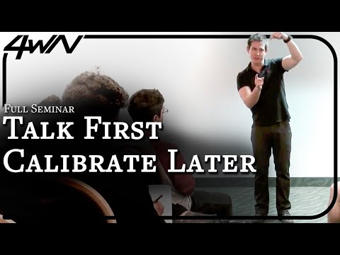Freedom of Expression & How To Pick Up Girls (Talk First, Calibrate As You Go)