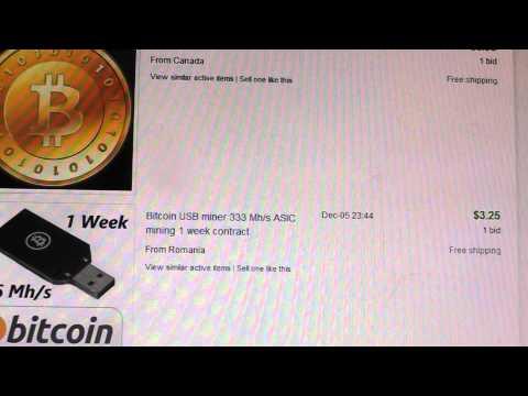 Bitcoin on Ebay