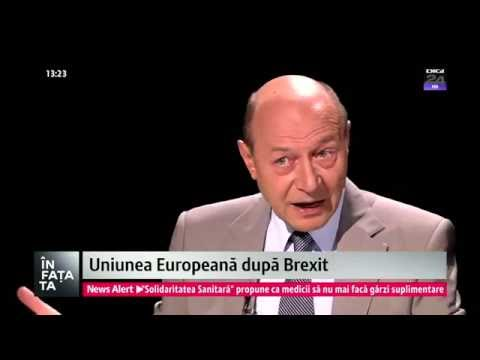 "Traian Basescu la emisiunea ""In fata ta"" – Digi24"