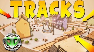 Tracks Gameplay : Train Set Building Game!  Building a Town! (PC Let