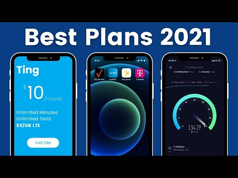 Best Cell Phone Plans 2021!