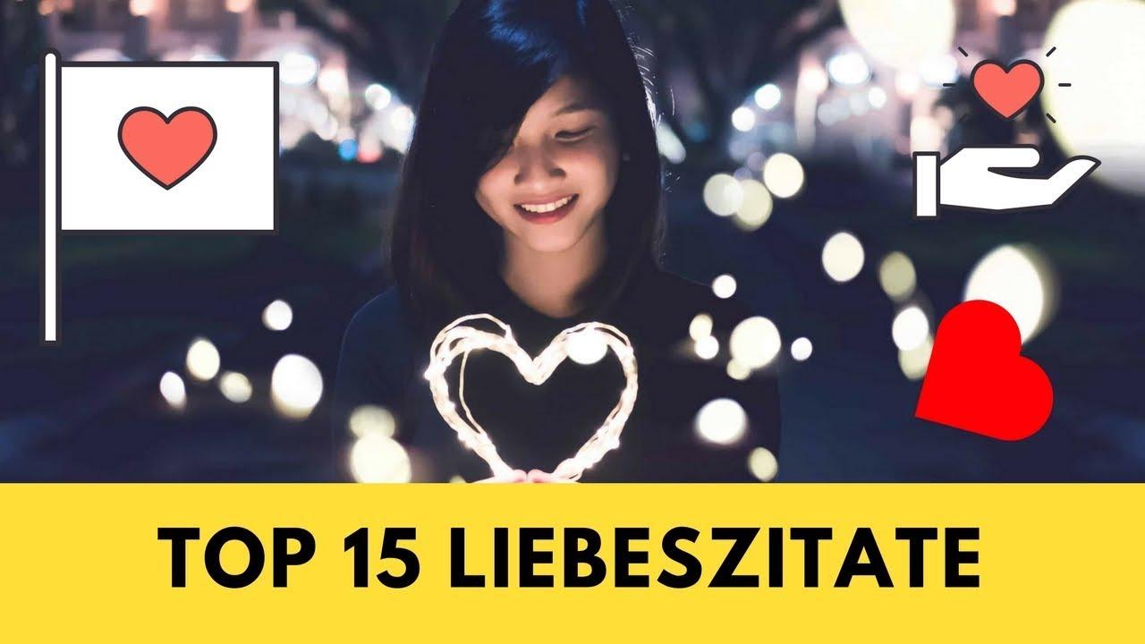 Top 10 Liebeszitate ** Die Schönsten Zitate über die Liebe ...