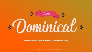 Palabra de Dios // No nos detendremos //  Domingo 5 de Abril 2020 ( AM )