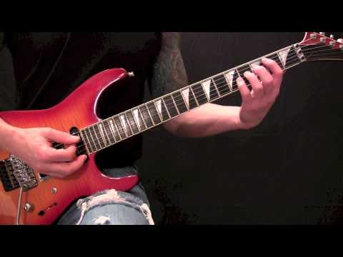 Queensryche - Jet City Woman - Guitar Lesson - Verse(s)