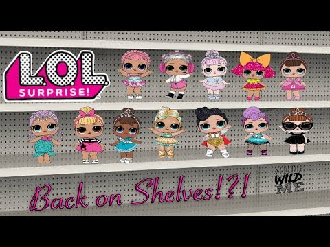 Limited Edition LOL Surprise Series 1 + Series 2 Re-Release.  Everything You Need To Know!