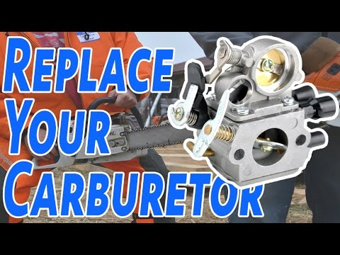 How To Replace A Carburetor On A Chainsaw