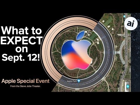 Apple's Sept. 12 Event - What to Expect!