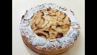 Исчезающий яблочный пирог Невидимый французский пирог