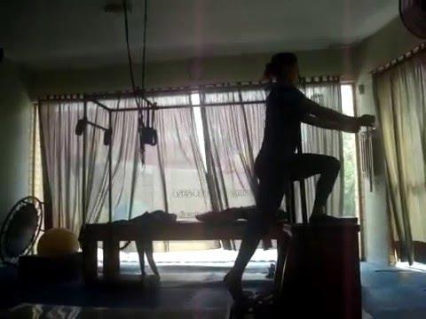 Pilates Chair - Instrutora de Pilates Katia Lima