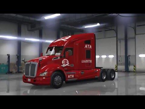 ATA Lojistik-Şamil | American Truck Simulator | Efsane Amerika Yollarında