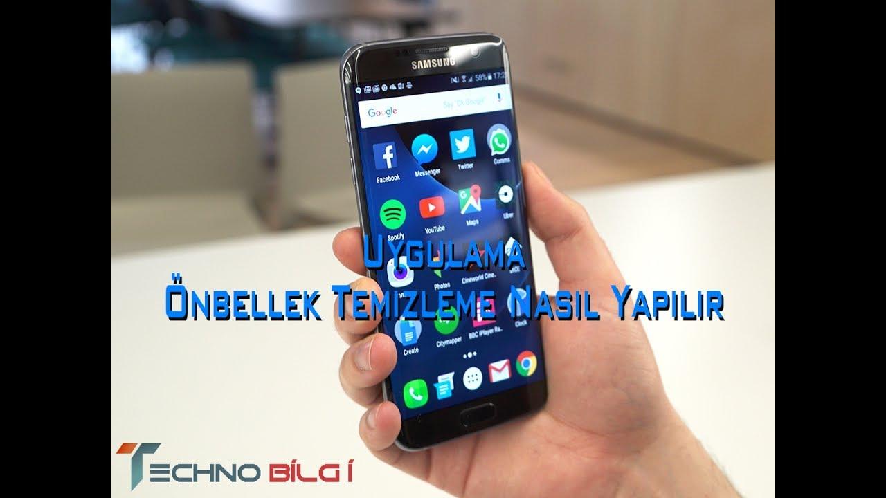 Samsung Uygulama Önbellek Veri Temizleme