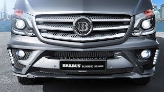 BRABUS Business Lounge based on the Mercedes-Benz Sprinter - mobile luxury office