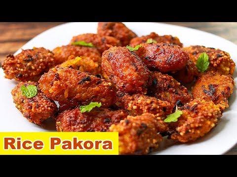 rice-pakora-|-leftover-rice-snacks-|-easy-snacks-recipe-|-toasted