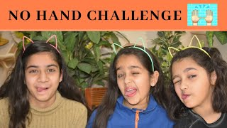 NO HANDS EATING Challenge, Funny Video, kids games, girls games