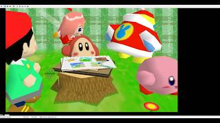Kirby 64: The Crystal shards| Whispy willows boss fight