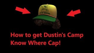 [PROMO CODE] Roblox - How To Get Dustin's Camp Know Where Cap!