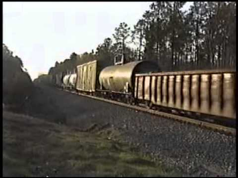 KCS Freight Leaving out of Blanchard,LA March 2000