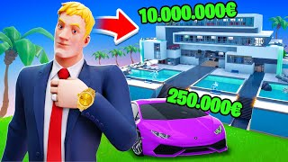 J'ai ACHETÉ une VILLA à 10.000.000€ (YOUTUBE MONEY)