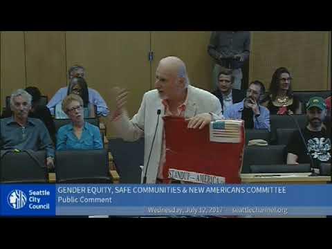 2017-07-12 Seattle City Council Ejection of Alex Tsimerman