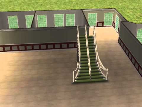 comment construire une belle maison sur sims 2 youtube. Black Bedroom Furniture Sets. Home Design Ideas