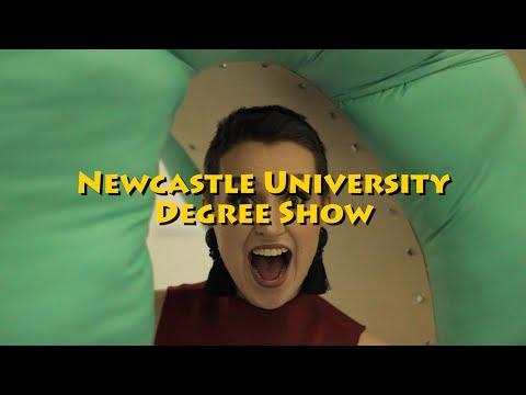 Newcastle University Fine Art Degree Show 2017