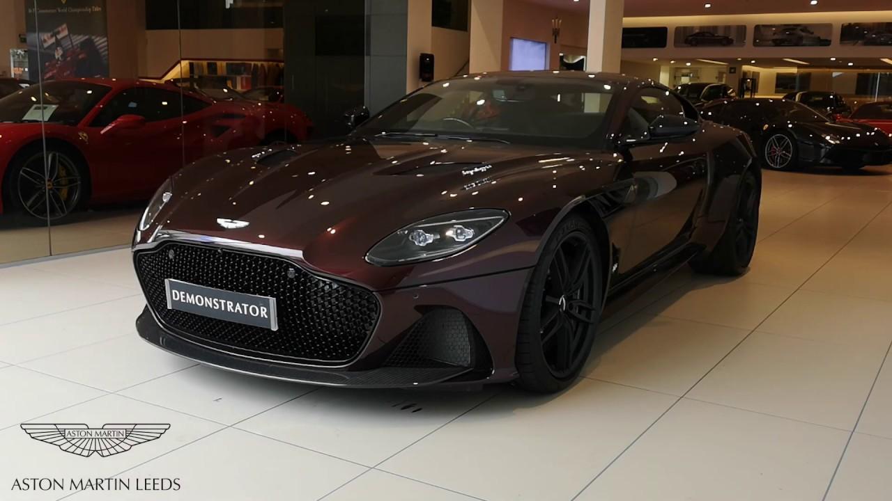Dbs Superleggera In Divine Red Aston Martin Leeds Youtube