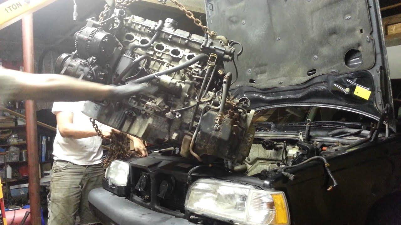 Volvo 850 engine swap