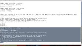 [bWAPP] Uploading Shell via SQLmap into Database