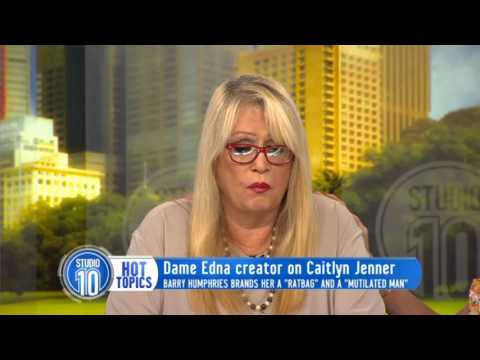 Carlotta Speaks Out On Barry Humphries' Caitlyn Jenner Comments   Studio 10