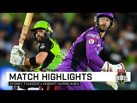 Sydney Thunder beat Hobart Hurricanes but miss finals | KFC BBL|08 Mp3