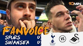 Kane hits the bar as Spurs draw with Swansea! | Tottenham Hotspur 0-0 Swansea | 90min FanVoice