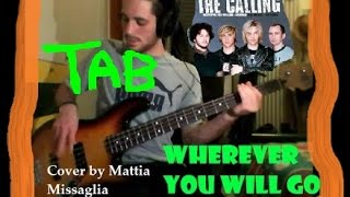 WHEREVER YOU WILL GO - THE CALLING (BASS TAB)
