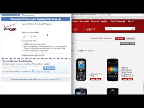 Verizon Wireless Coupon Code - How To Use Promo Codes And Coupons For VerizonWireless.com