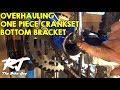 How To Overhaul Bike Bottom Bracket With One Piece Crank