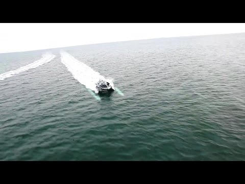 Juliet Marine - Supercavitating Very High Speed Stealth Surface Vessel Quality Sea Trials [1080p]