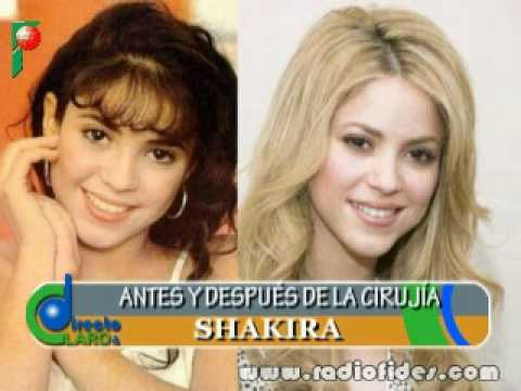 famosas Latinas antes y despues de la cirugia - YouTube