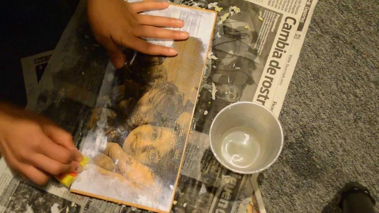 Como hacer fotos en madera ideas para regalar diy - Fotos en madera ...