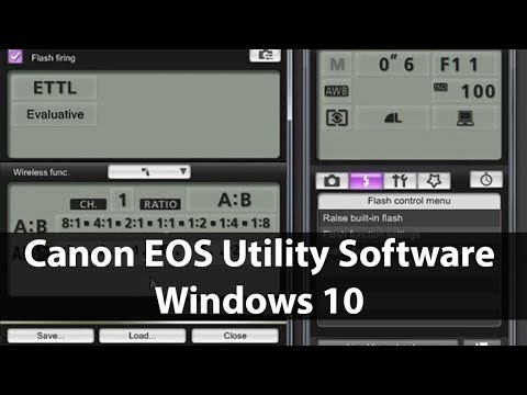Canon EOS Utility Software Windows 10 Free Download without CD