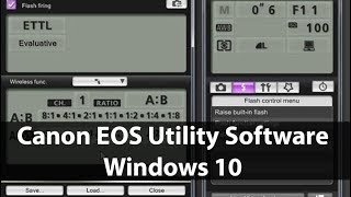 eos Utility Install Without Disk Windows 10 64bit and 32bit